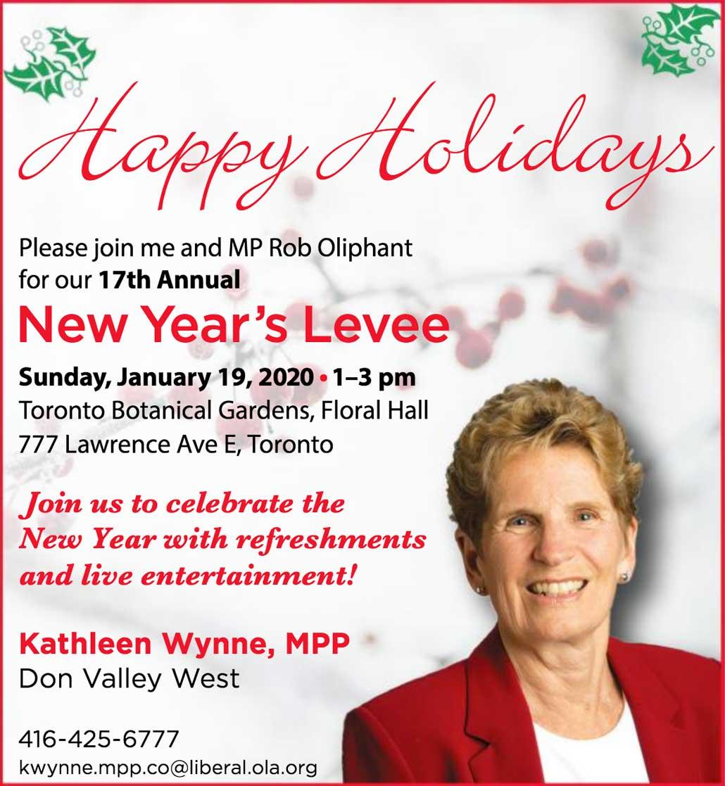 New Year's Levee