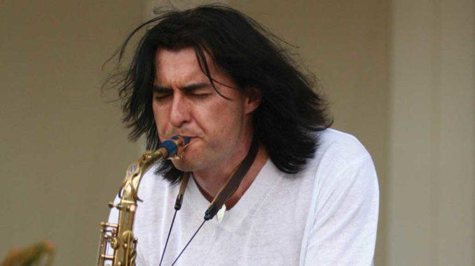 Sax virtuoso Warren Hill.