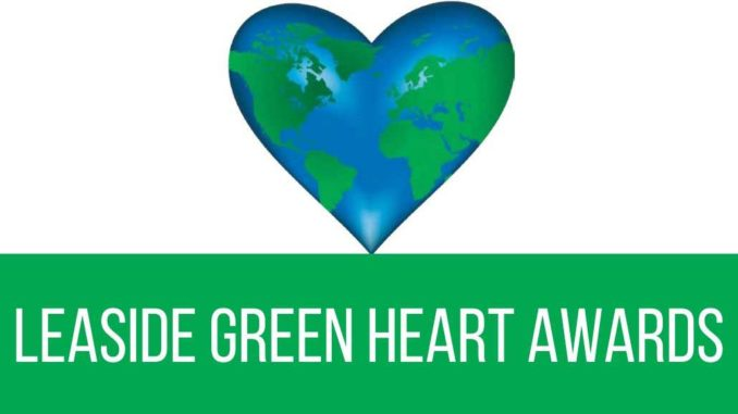 Green heart awards.