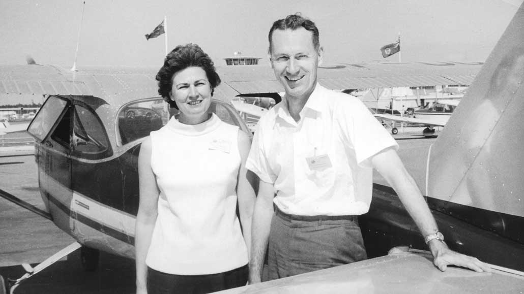 Shirley and Neil Macdougall.