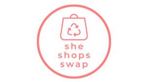 She Shops Swap logo.