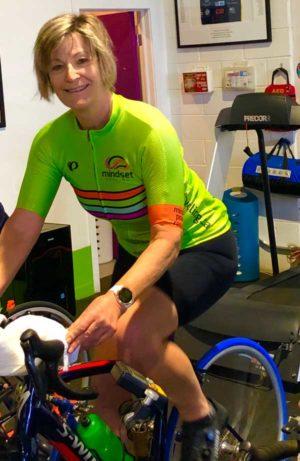 Rosemary Drukarsh, Leaside cyclist.