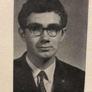 Paul Cadario's Leaside High School Yearbook photo.