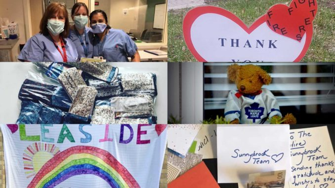 Leaside cares collage