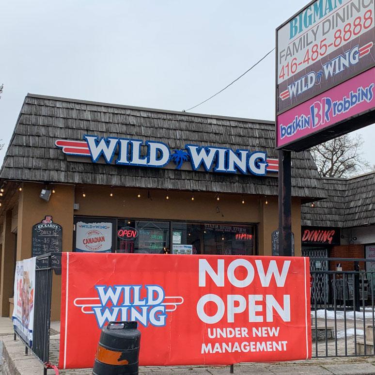 Wild Wing, 666 Milwood Road.