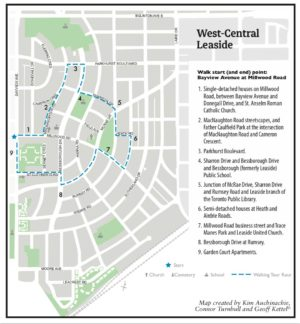 Walking Tour of West Central Leaside