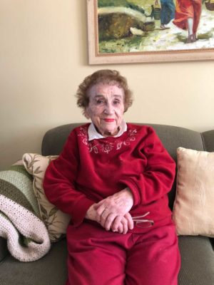 Loretta at 101.