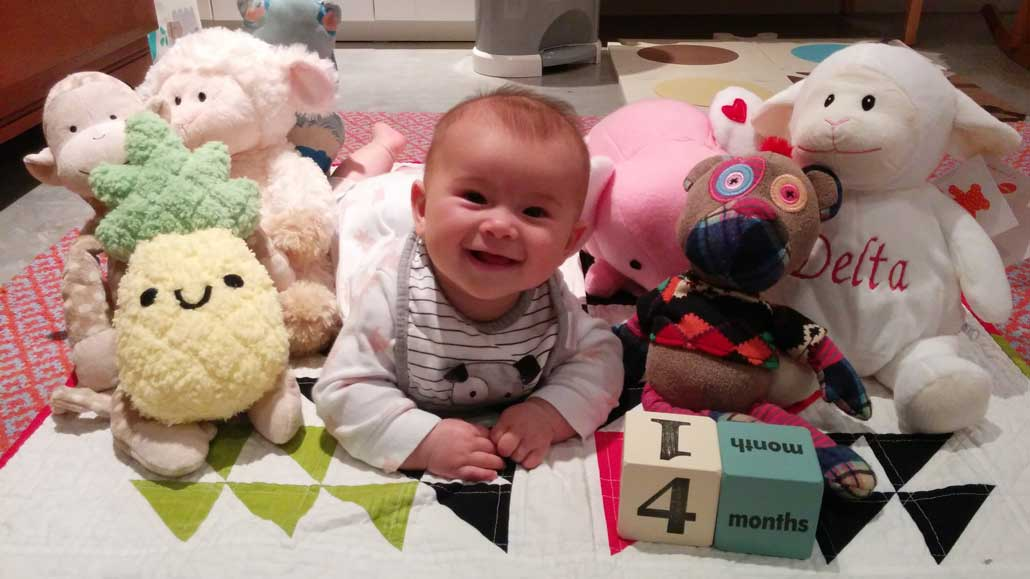 Stuffies may be banned from the crib, but that doesn't mean your grandchild can't have some! Photo by Simon Rayment.