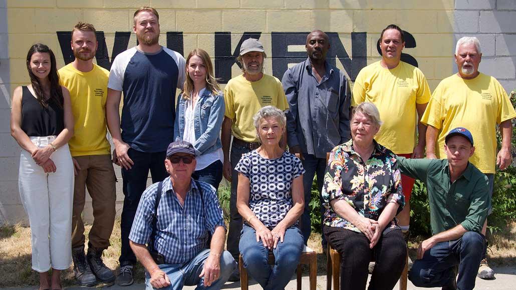 The Wilkens clan. Photo by Jake Wilkens.