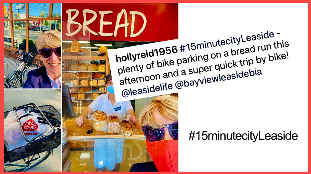 Share your #15minutecityLeaside photos with the hashtag on Instagram.