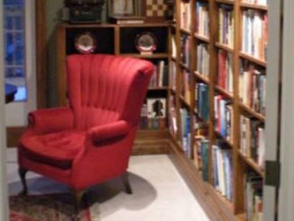 Terry Fallis' library.