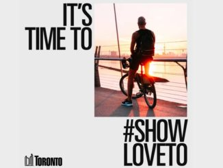#showloveTO promotional poster.