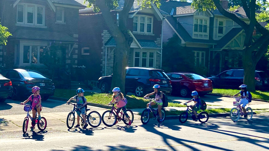 Are Leaside streets for all ages and abilities?