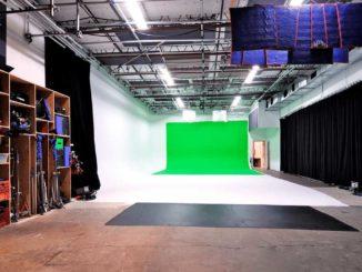Pie in the Sky Film Studios (Studio 2) is located on Laird Avenue in Leaside.