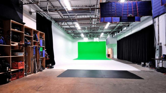 Pie in the Sky Film Studios (Studio 2) is located on Laird Avenue in Leaside.