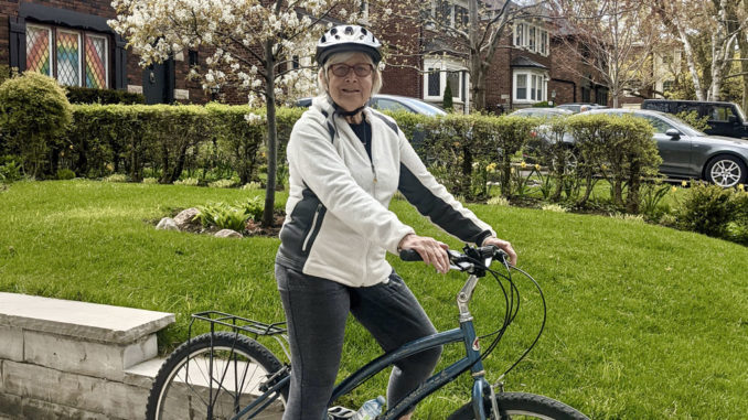 Leaside Cyclist Jenny Tomko.