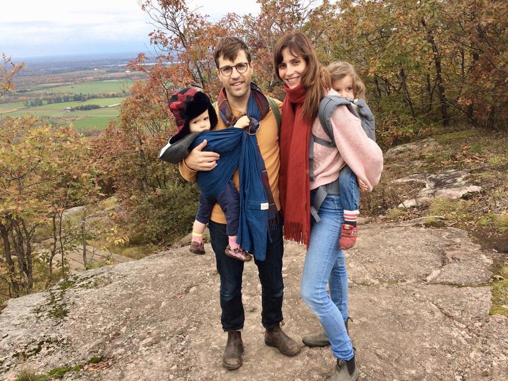 Leaside grad Katherine Leyton and family. Photo from Katherine/Paul Leyton.