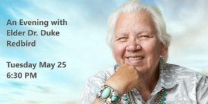 Please join the LHS School Council and community for an inspiring and transformative talk with Elder Dr. Duke Redbird.