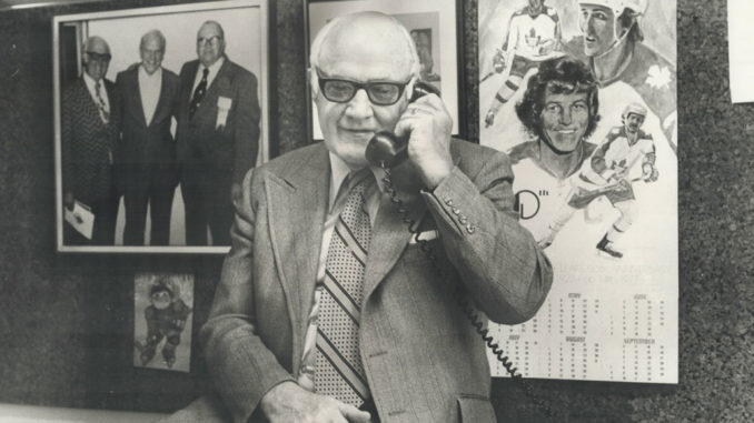 Photo of Bob Davidson from the Toronto Public Library Archives.