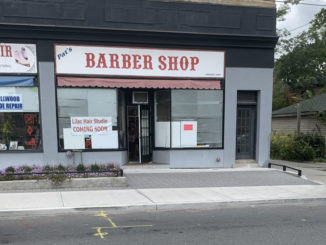 Pats Barber Shop. Photo by Robin Dickie.