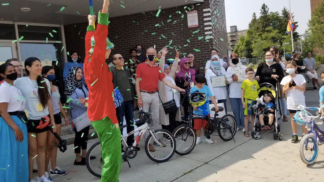 First Tour de Thorncliffe hits the mark