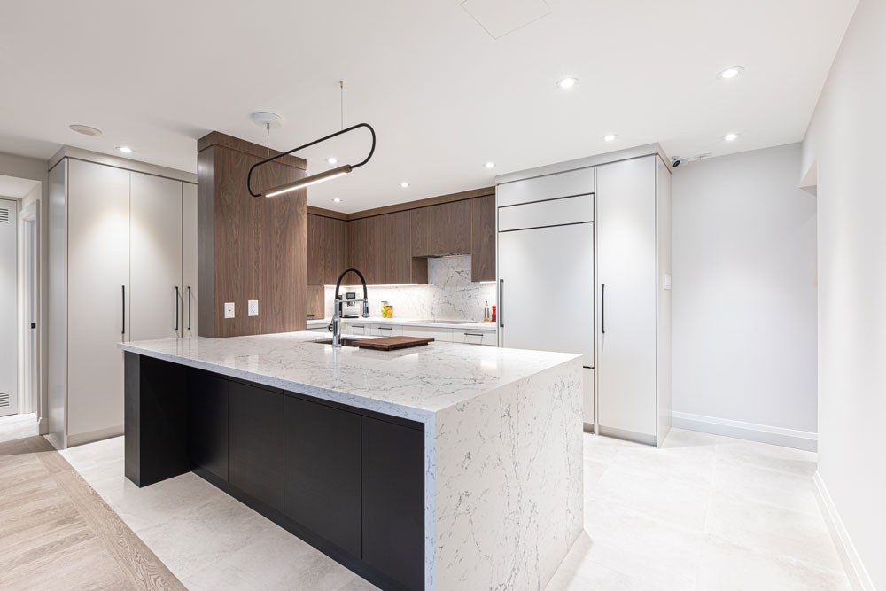 Photo of A Meek Design & Construction kitchen project.