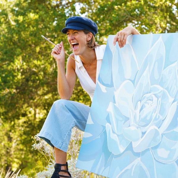 Libby Holland, artpreneur, credits LHS teacher with her success.